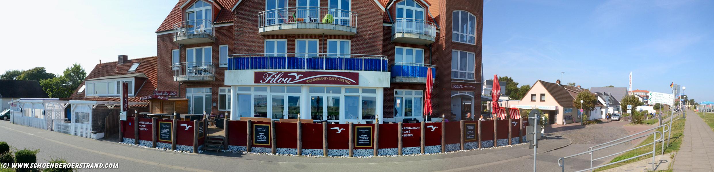 Restaurant Filou Schönberger Strand