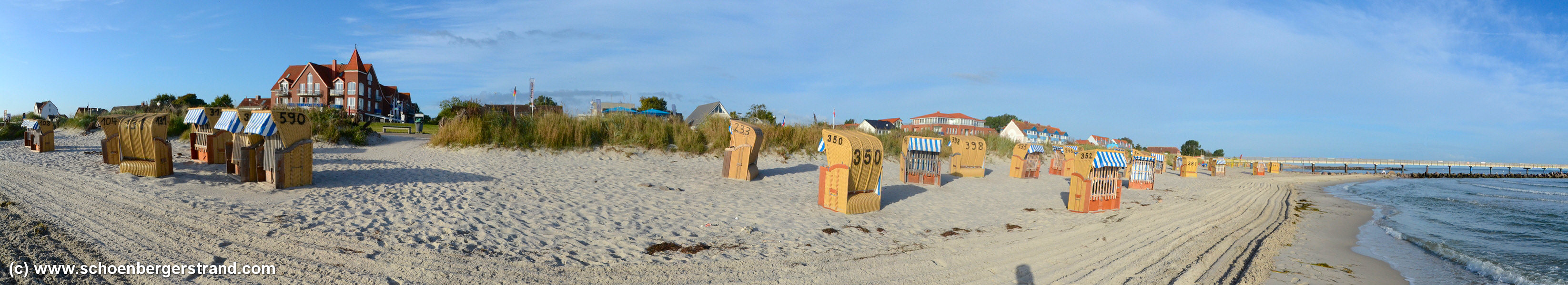 Schönberger Strand Morgens im September