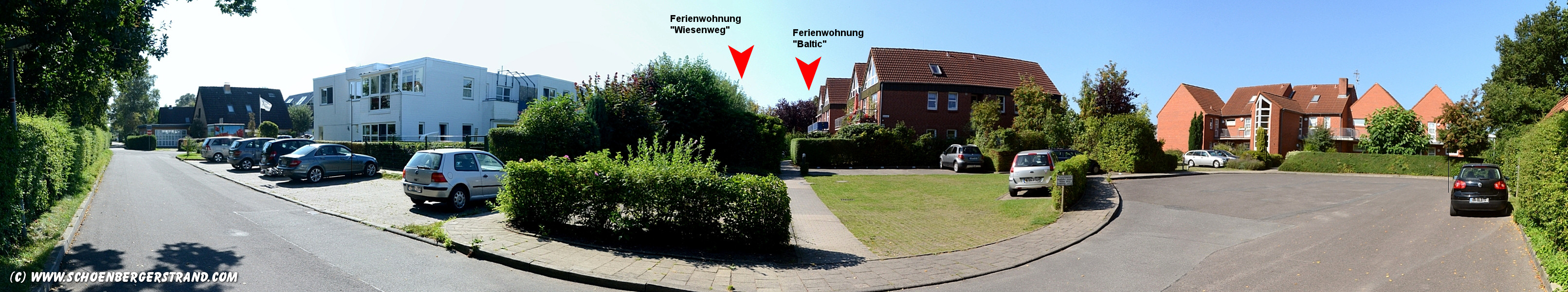 Ferienwohnungen Wiesenweg und Eschenweg am Schönberger Strand