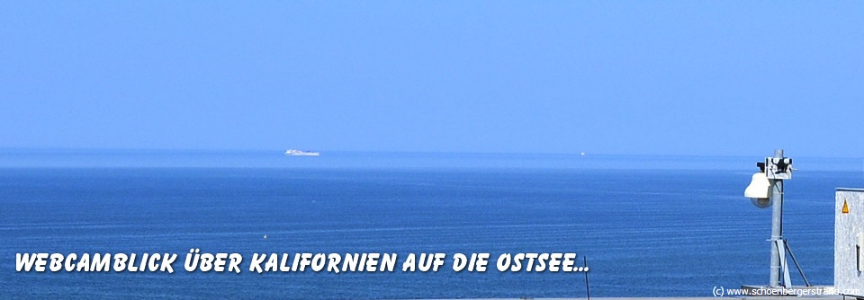 Webcam in Kalifornien an der Ostsee
